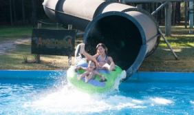 Sentí adrenalina de los parques acuáticos