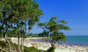 Playas sobre el estuario del Plata