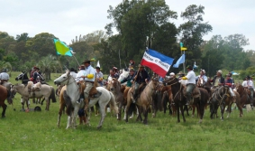 Sarandí Grande and the Battle of 1825 reenactment