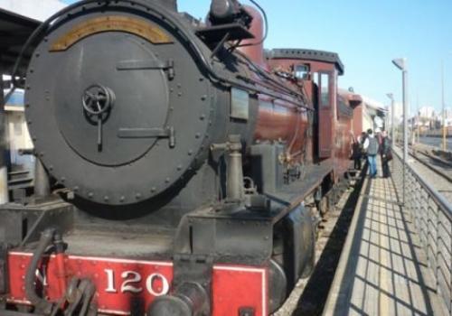 Paseo en tren a Peñarol en Vacaciones de Julio