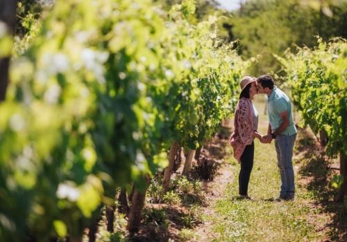 Festejar San Valentín entre viñedos y brindar con la bebida del amor