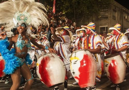 Montevideo y candombe