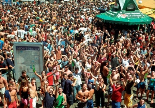 Fiestas para despedir el año en Montevideo