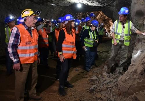 Turismo mineiro em Artigas e Minas de Corrales no Inverno 2018